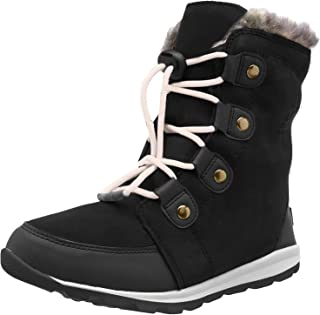 Sorel 女童 Youth Whitney 麂皮雪地靴