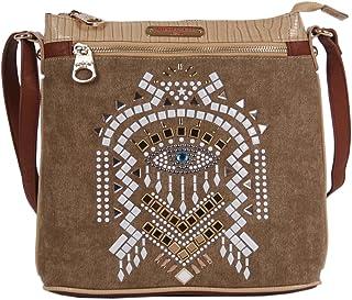 Nicole Lee Ramsha Stud Detail Cross Body Bag