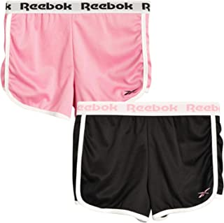 Reebok 女童 Performance Active 短裤(2 件装)