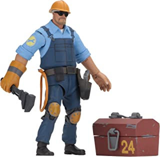 NECA - Team Fortress 2 - 7 英寸比例動作公仔 - 3.5 系列 BLU Engineer
