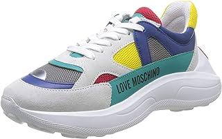 Love Moschino 女式 Scarpad.Running 60 Rete 混合 + 交叉 + VIT 体操鞋