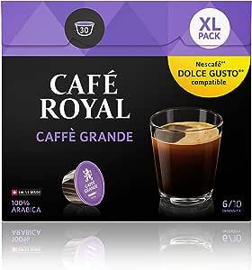 Café Royal Caffé Grande 90 咖啡胶囊 与Nescafé 咖啡机适配, 3包