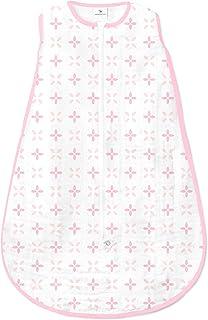 Amazing Baby 平纹细布睡袋 粉红色 Small 0-6 Month