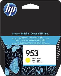 HP 惠普 953 黄色 原装墨盒 – 适用于打印机(黄色、标准、HP惠普、-40 – 60摄氏度,Officejet Pro 8210 Officejet Pro 8218 Officejet Pro 8710 AIO Officejet Pro 8715 AIO,5 – 35摄氏度)