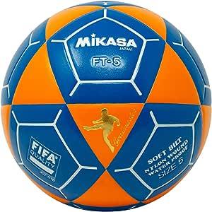 Mikasa FT5 Goal Master 足球,橙色/蓝色,尺码 5