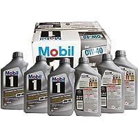 Mobil 美孚 1号 96989 0W-40合成机油 946ml*6 (1箱6瓶装)(亚马逊进口直采,美国品牌)