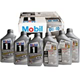 Mobil 美孚 1号全合成润滑油0W-40(美国原装进口)(946ml*6支装) (部分地区已开通线下安装及保养服务!仅限亚马逊自营商品)