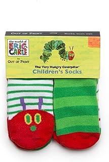 Out of Print 文学和书籍主题中性棉质幼童袜,适合书人、阅读者和书目目读者