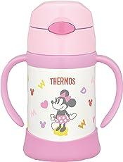 THERMOS 膳魔师 真空保温宝宝吸管杯 250ml 9个月以上用 防渗透宝宝杯 FHI-250DS 浅粉色(LP)