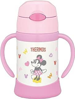 THERMOS 膳魔師 真空保溫寶寶吸管杯 250ml 9個月以上用 防滲透寶寶杯 FHI-250DS 淺粉色(LP)