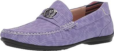STACY ADAMS 男士 CYD 一脚蹬乐福鞋驾驶风格 淡紫色 9.5 M US