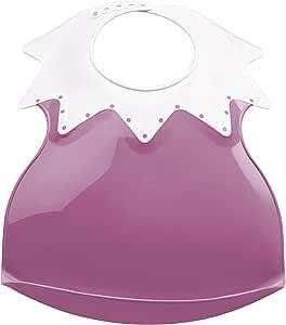 Harlequin Thermal 婴儿围嘴带碎屑托盘粉色兰花图案
