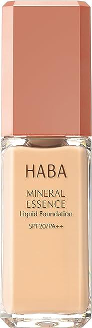 HABA 矿物质粉底液 米黄色00 30毫升