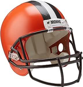 Riddell NFL Cleveland Browns Replica 全尺寸头盔,中号,黑色/橙色