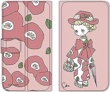 Caho 手机保护壳 翻盖式 薄型印花翻盖 和服和花WN-LC128385_ML  17_ Nexus5 LG-D821 和服 花A