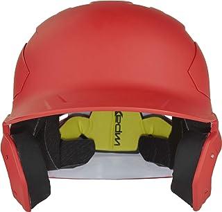 RAWLINGS Mach 碳纤维棒球击球头盔,鲜红色,XL 码