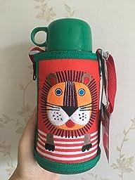 中亚海外购:日本Tiger虎牌,儿童保温杯(两用盖),俗称狮子杯