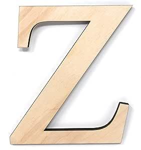 "Gocutouts 12"" 希腊字母高级 0.64cm 波罗的海桦树兄弟/orority 木希腊字母 Zeta 12"" Greek12"