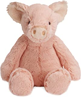 Manhattan Toy 曼哈顿玩具 可爱粉色 Piper 毛绒动物猪, 12英寸/约30.48厘米