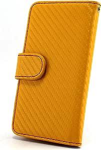 whitenuts 保护壳 手册式 【左撇子】 多彩碳WN-OD308624 3_ Galaxy Note SC-05D 黄色