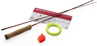 """Fly Fishing Form Game Rod 4'2"""""""" with Line - Lava"""