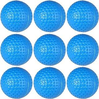 BESPORTBLE 20 只装高尔夫训练球塑料高尔夫练习球运动高尔夫球男女通用蓝色