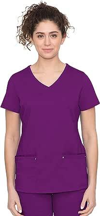 Purple Label Yoga Juliet 2245 V-Neck Scrub Top