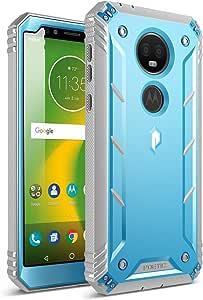 Poetic Revolution Case for Motorola Moto E5 Plus 对开式 黑色 蓝色