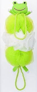 MARNA 背后可洗的泡泡球 动物混合 B-876 青蛙 B876G