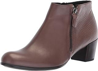 ECCO 爱步 女士 塑性高跟踝靴 M 35