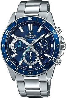 Casio 卡西欧 Edifice 男士手表 不锈钢实心表壳 不锈钢表带 EFV-570D-2AVUEF