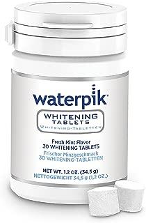 Waterpik 洁碧 WT-30EU *专业水牙线片补充装,适用于漱口腔,牙齿亮白