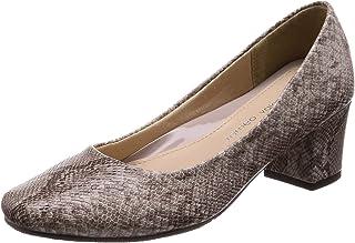 [ROMEO Valentino] 方头 鞋跟5.5cm 足围3E 蓬松 低反弹垫 B18037 女士