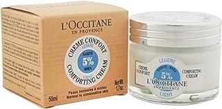 L'Occitane 欧舒丹 5%乳木果油轻盈面霜,适合中性至混合性皮肤,1.7盎司(约48.19克)