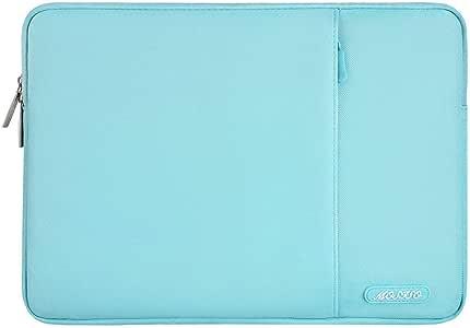 mosiso 涤纶垂直风格防水笔记本套包盖带口袋