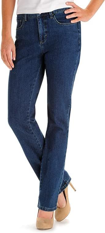 Lee Women's Classic Fit Monroe Straight Leg Jean, Seattle, 18/Tall