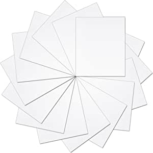 25.4 厘米 x 30.48 厘米热转印纯色乙烯基预裁纸 - 15 张 白色 HTVPKSWHT