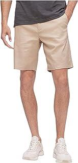 Calvin Klein 男式弹力棉麻短裤