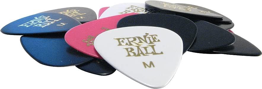 ERNIE BALL 中号什锦吉他拨片一包24