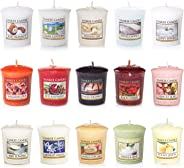 Yankee Candle Votive Value 15支Votive香薰蠟燭套裝,流行香味混裝