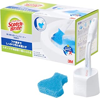 3M Scotch Brite 思高百利 厕所清洁刷 本体 带清洁剂 替换头15个 T-557-HC15RF