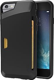 iPhone 6 絲綢薄款錢包SLK-VT6-BLACK 黑瑪瑙