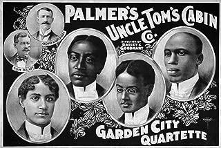 Uncle TomS Cabin Company 单版印刷海报 PalmerS Uncle TomS Cabin Company 花园城市四分之一 C1899 海报印刷品 (60.96 x 91.44 cm)