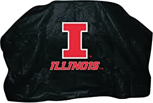 NCAA Illinois Fighting Illini 68-Inch Grill Cover