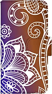 智能手机壳 手册式 对应全部机型 印刷手册 wn-463top 套 手册 阿拉伯风格 UV印刷 壳WN-PR061427-MX AQUOS Xx2 502SH B款