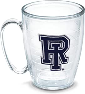 Tervis Rhode Island University Emblem Individually Boxed Mug, 16 oz, Clear