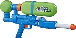 Nerf Super Soaker XP100 喷水器 - 气压连续爆炸 - 可拆卸水箱 - 适合儿童、青少年、成人