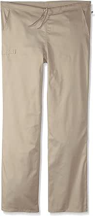 Cherokee 男士尺码 Ww Flex Certainty 中性高腰抽绳裤 卡其色 Small