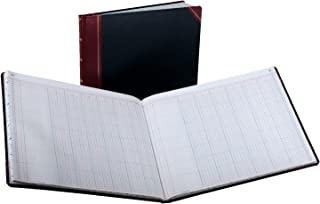 Boorum & Pease 25-150-12 Bound columnar book, 12-column, 150 pages, 12-7/8 x 15-1/8