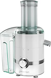 Juiceman JM3000 3-in-1 Total Juicer, White